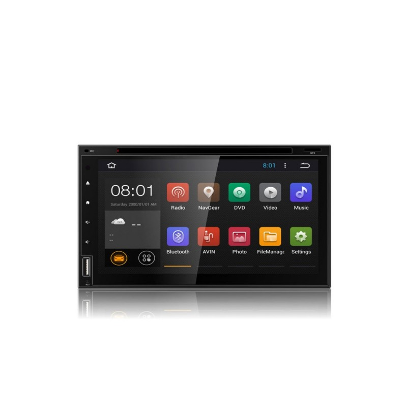 """Wodasound ® TU601, 6.95"""" univerzální 2 Din autorádio, Android 8.1 DVD"""